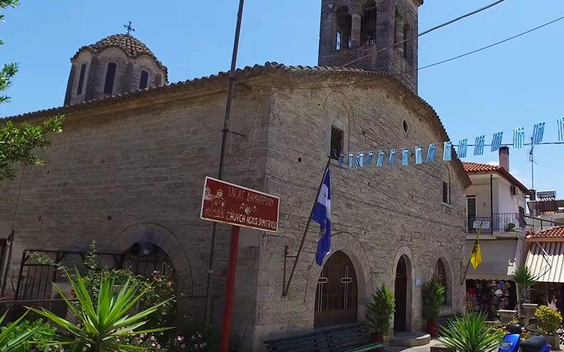 Афитос, церковь